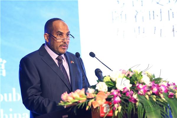 苏丹驻华大使欧玛尔·伊萨·艾哈迈德