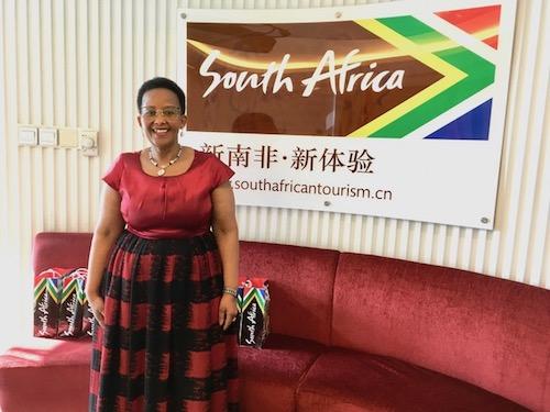 南非旅游部部长Tokozile Xasa女士