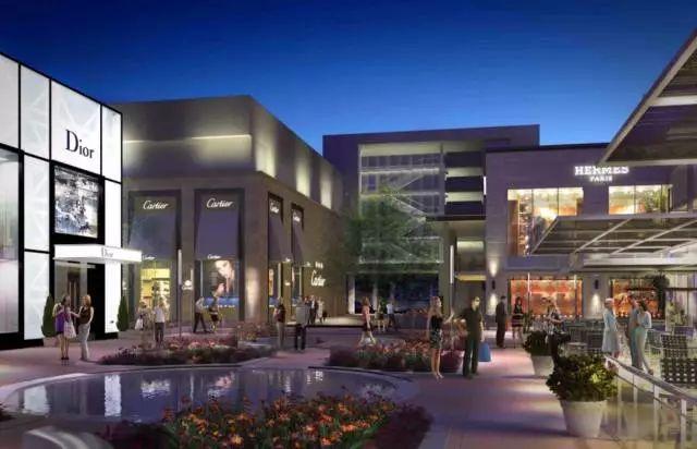 橡树河购物中心