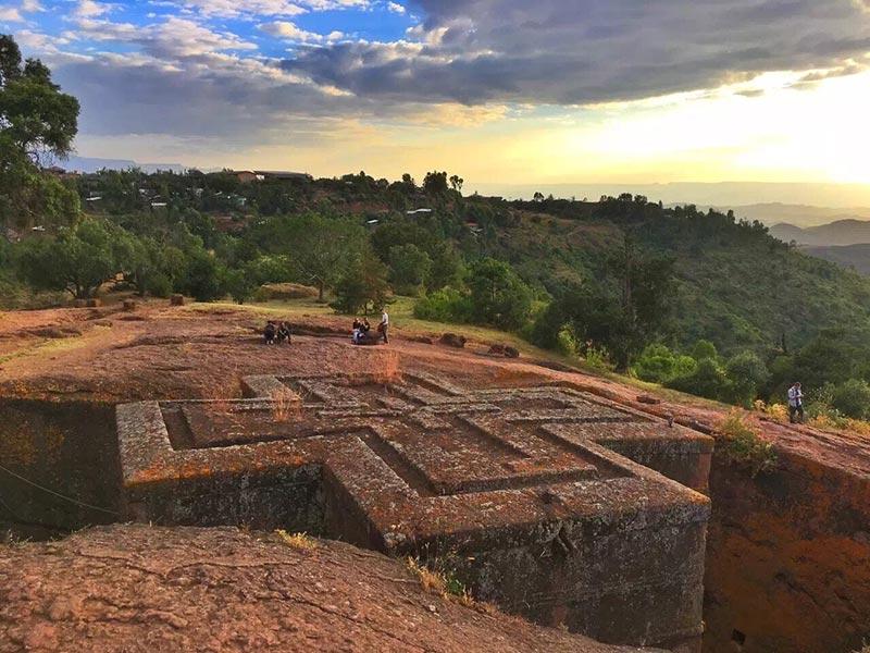 埃塞俄比亚拉利贝拉十字教堂
