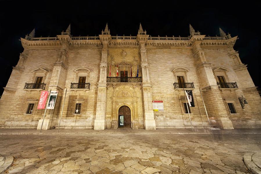 西班牙巴利亚多利德圣克鲁斯宫
