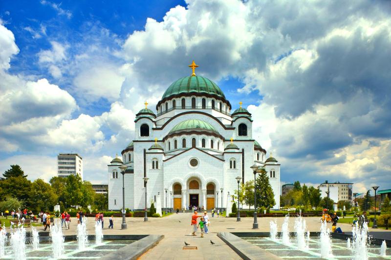 塞尔维亚贝尔格莱德圣萨瓦神殿