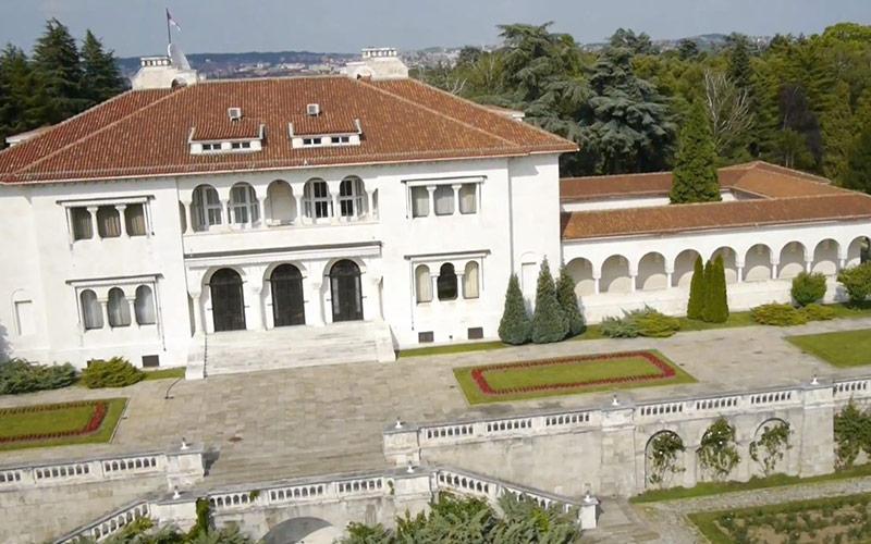 塞尔维亚贝尔格莱德皇宫