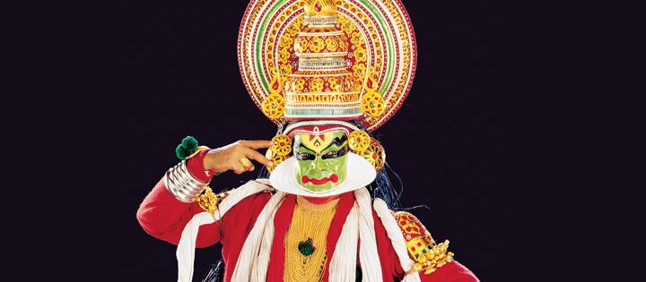 印度喀拉拉邦卡塔卡利舞