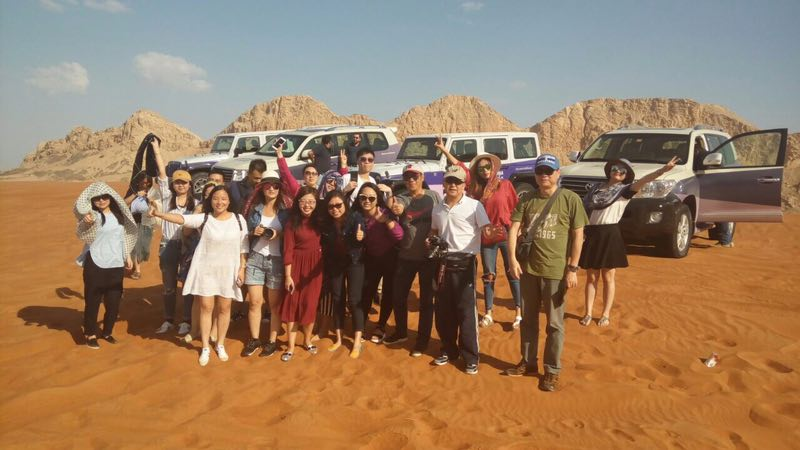 Sharjah hosts a fam trip for Chinese tour operators