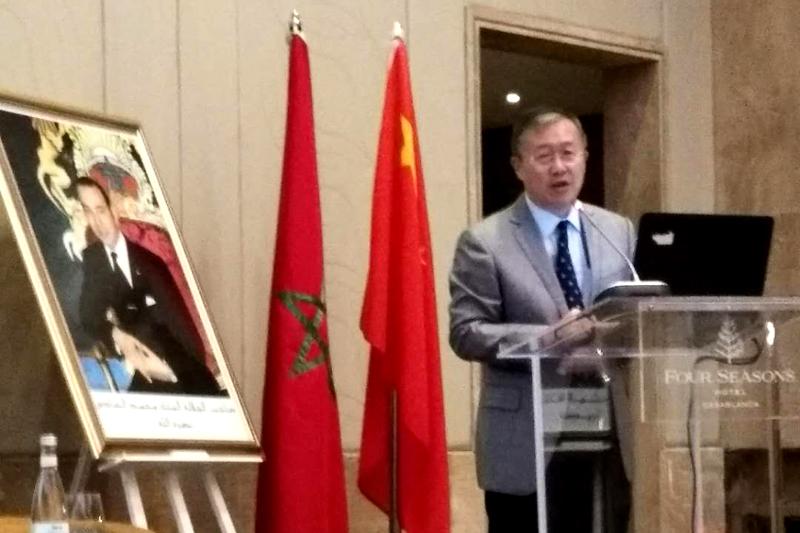 中国驻摩洛哥大使李立