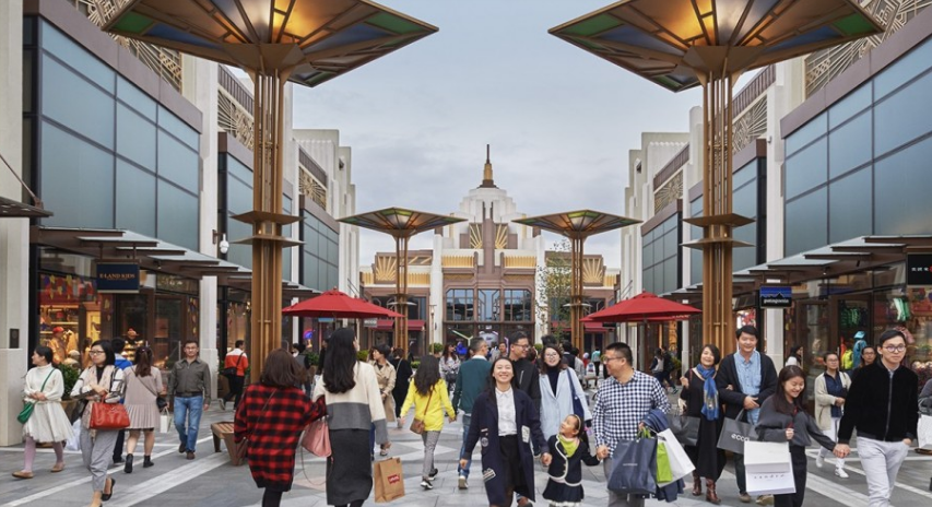 How shopping villages and Chinese tourists are changing the luxury retail landscape