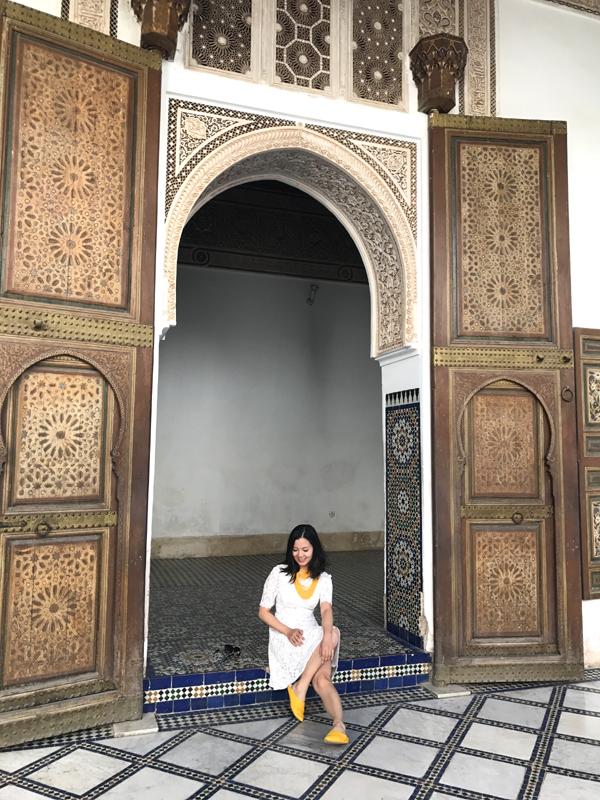 摩洛哥马拉喀什巴西亚皇宫