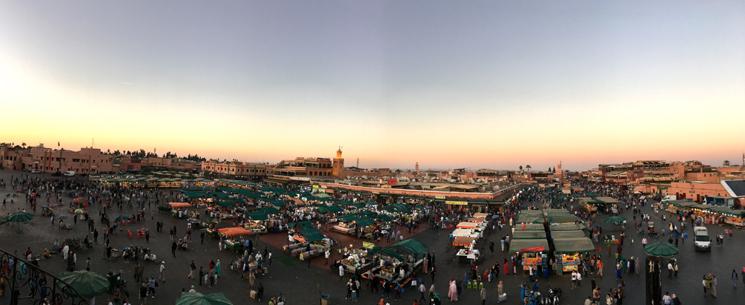 摩洛哥马拉喀什不眠广场