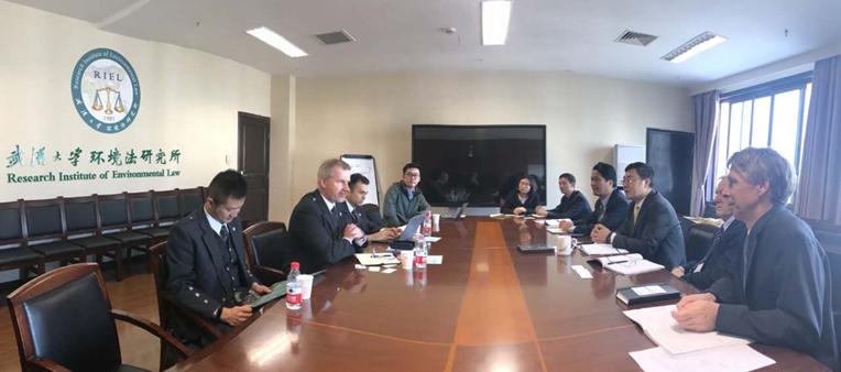 英国阿伯丁大学访问武汉大学环境法研究所