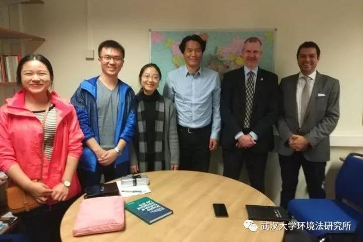 武汉大学环境法研究所访问英国阿伯丁大学