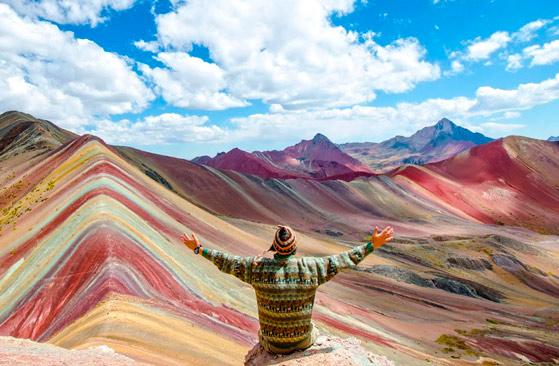 秘鲁彩虹山