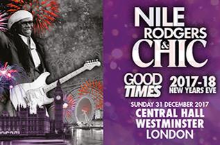 2017尼尔·罗杰斯和CHIC跨年演唱会