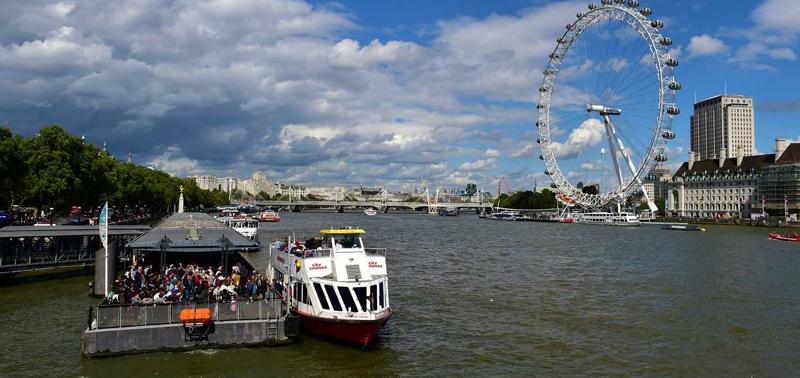 英国伦敦泰晤士河