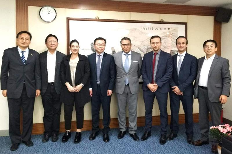 摩洛哥拜访上海市对外投资促进中心