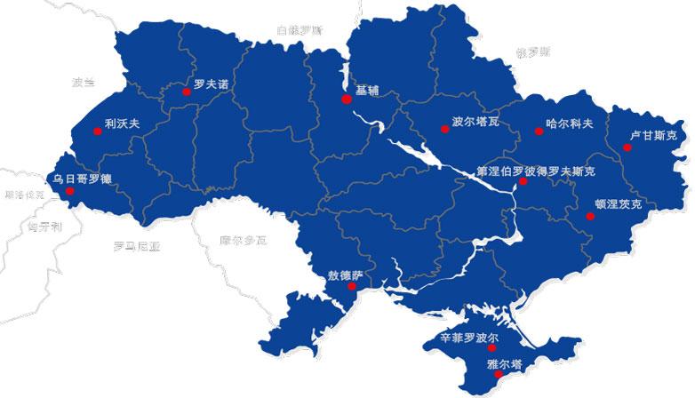乌克兰地图