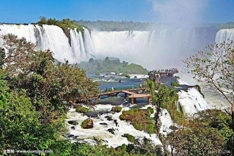 巴西、阿根廷边界交接的伊瓜苏国家公园