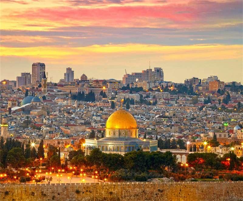 以色列耶路撒冷古城