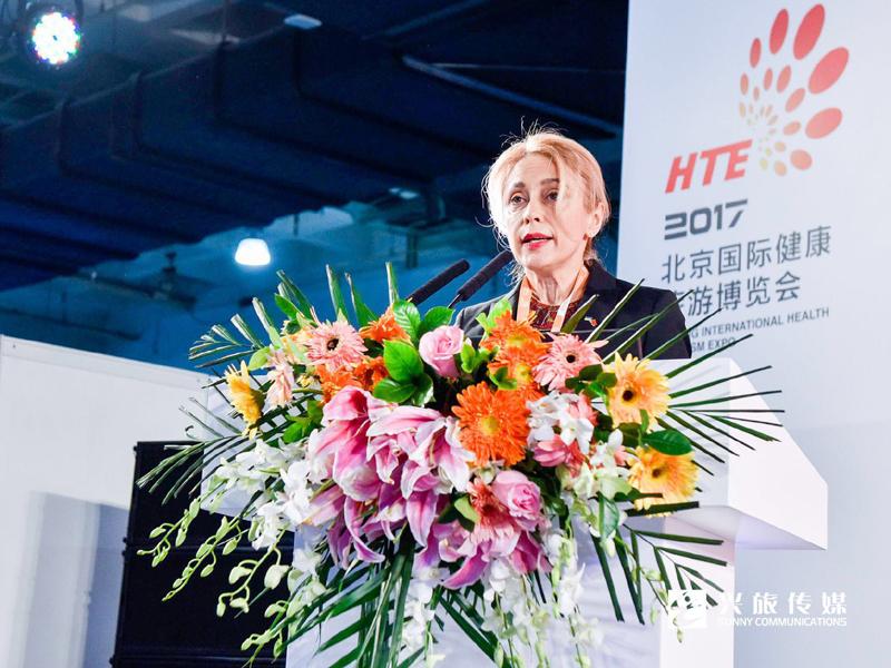 全乌克兰旅游公司总裁Helen Shapovalova女士
