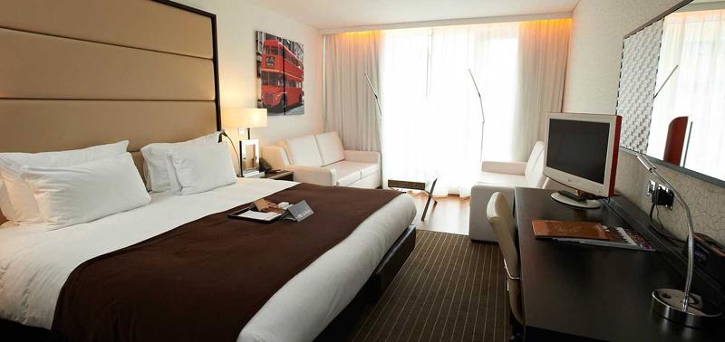 英国伦敦佩斯塔纳切尔西桥温泉酒店豪华家庭房