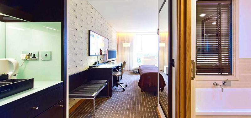 英国伦敦佩斯塔纳切尔西桥温泉酒店豪华连通房