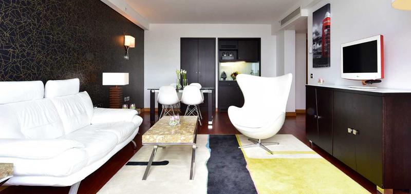 英国伦敦佩斯塔纳切尔西桥温泉酒店单卧室套房