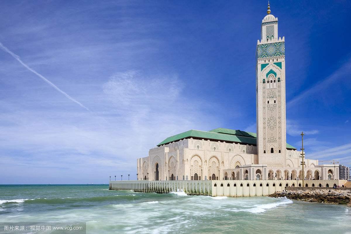 摩洛哥卡萨布兰卡哈桑二世清真寺