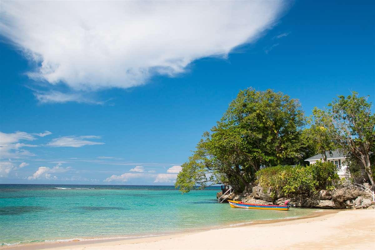 牙买加海滩