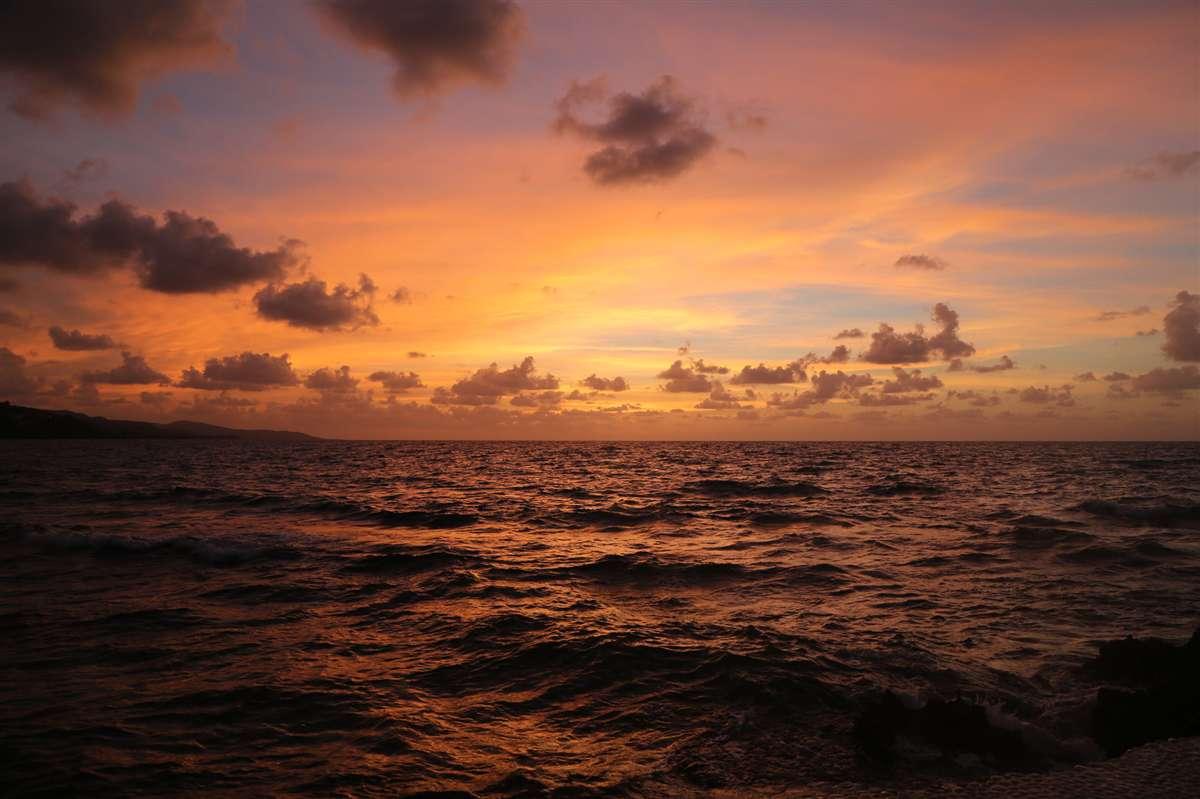 牙买加落日