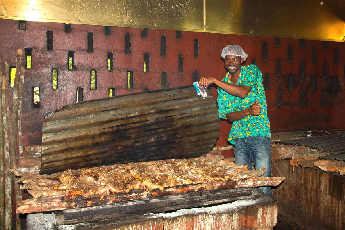 牙买加烟熏烤鸡