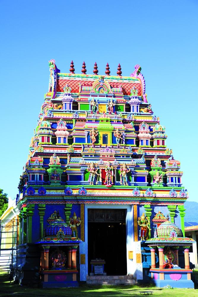 法属留尼汪印度神庙