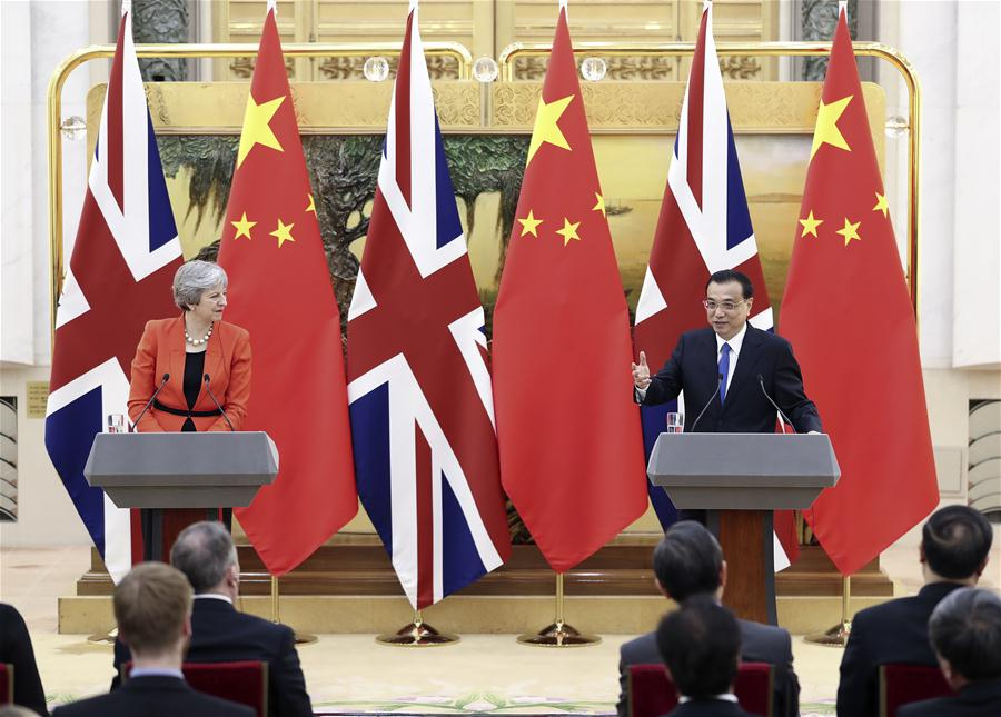 "News Analysis: China-Britain ""Golden Era"" on fast track to bear new fruit"