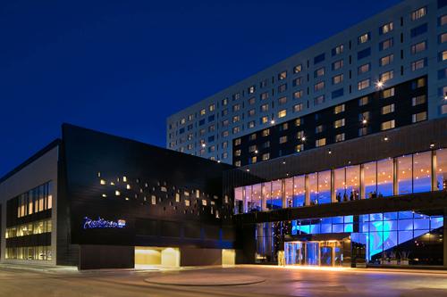 美国商城丽笙蓝标酒店