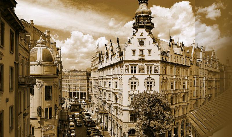 捷克布拉格巴黎大酒店