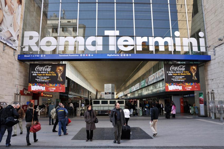 意大利罗马Termini火车站