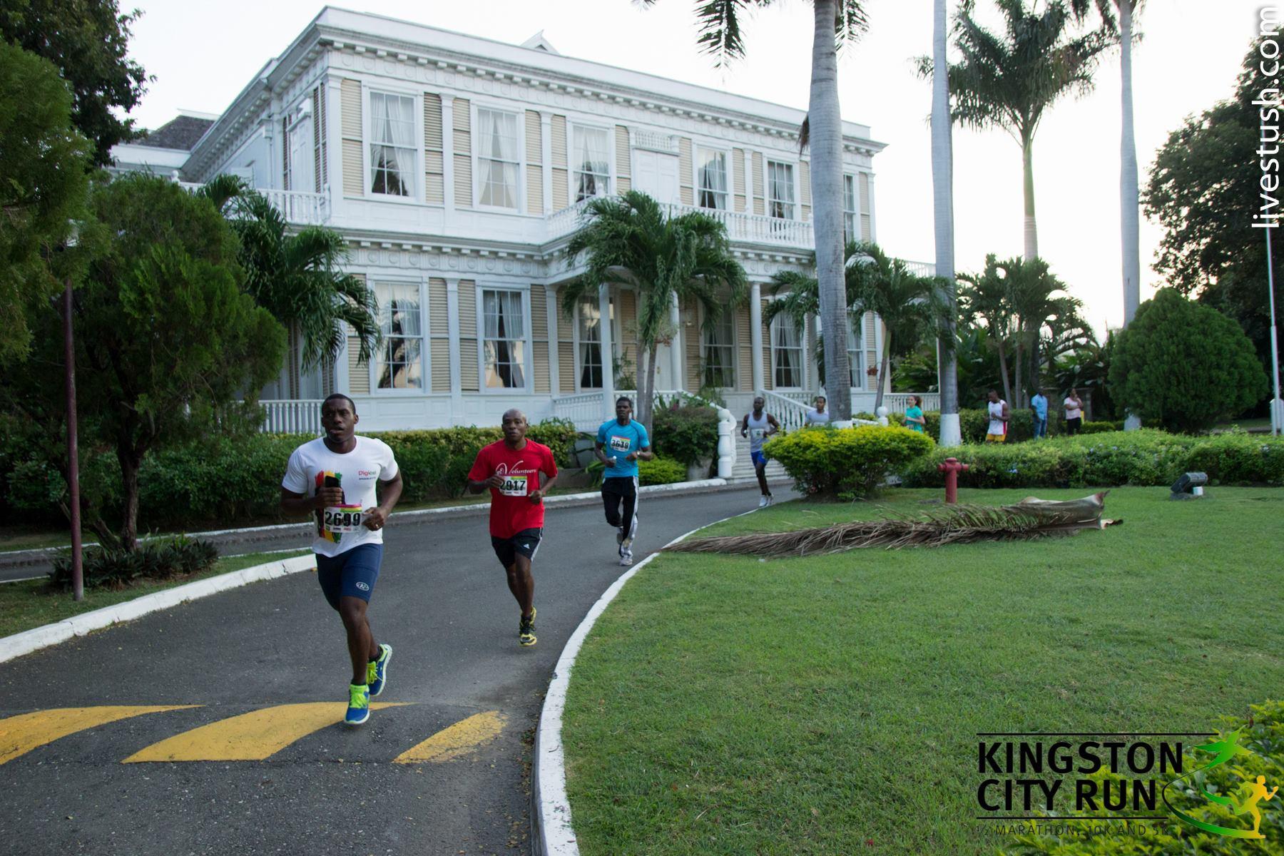 牙买加金斯敦城市赛跑