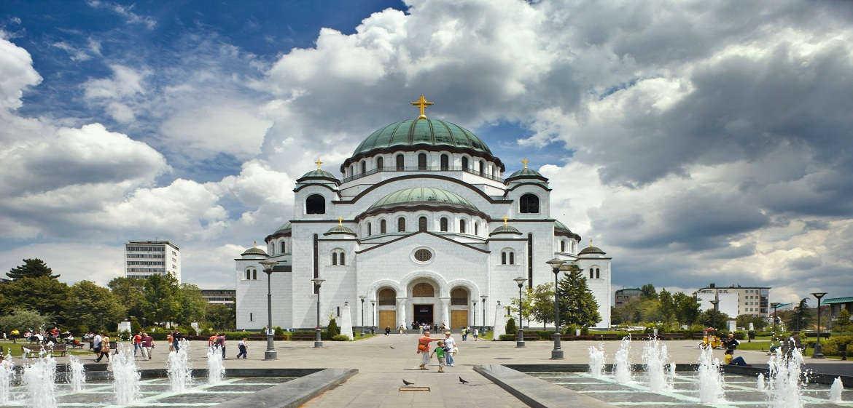 塞尔维亚圣萨瓦寺