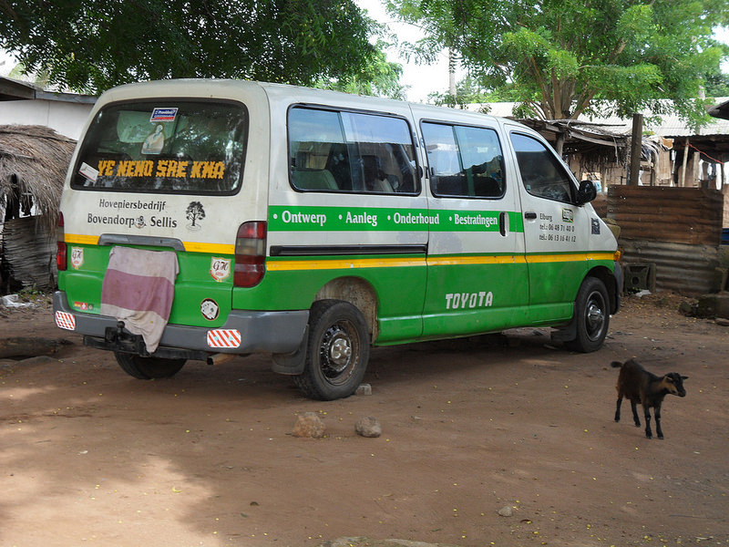 攻略 在加纳乘坐Tro Tro完全指南