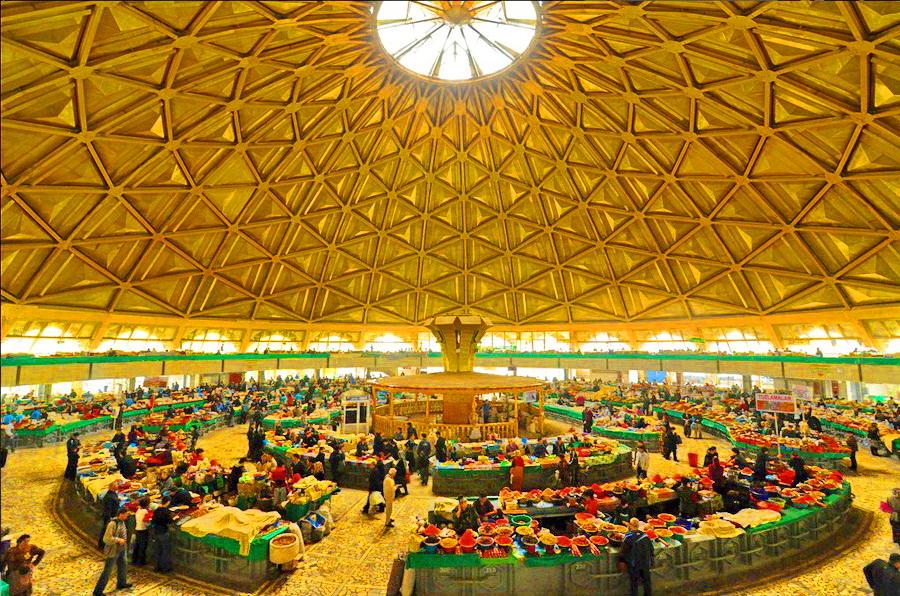 乌兹别克斯坦塔什干圆顶集市