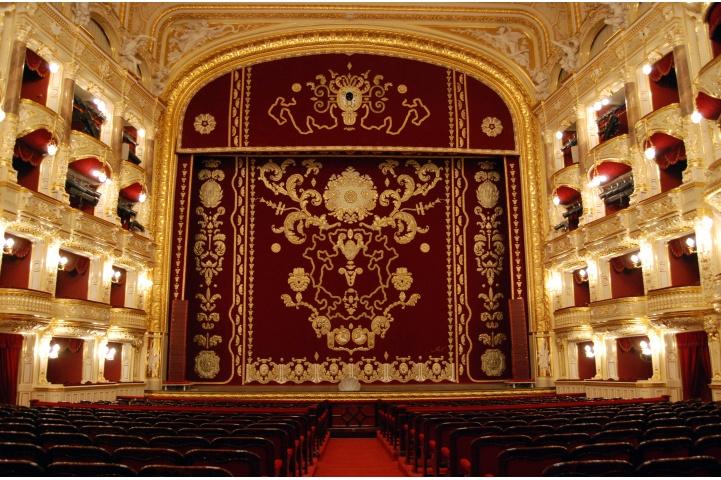 乌克兰敖德萨歌剧院