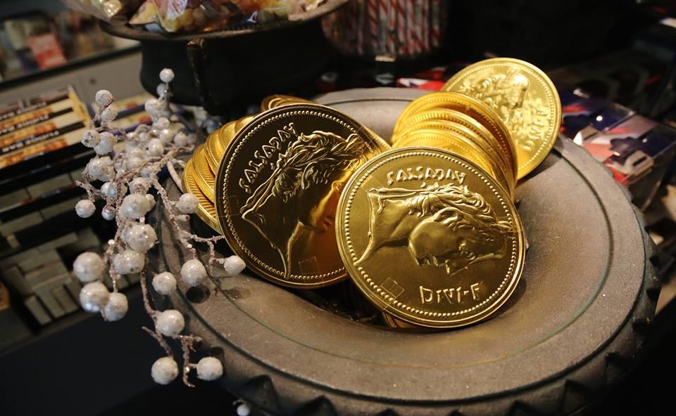 罗马硬币巧克力
