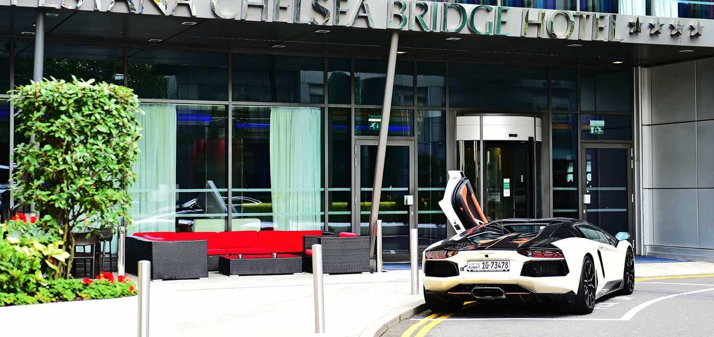 英国伦敦佩斯塔纳切尔西桥温泉酒店外观