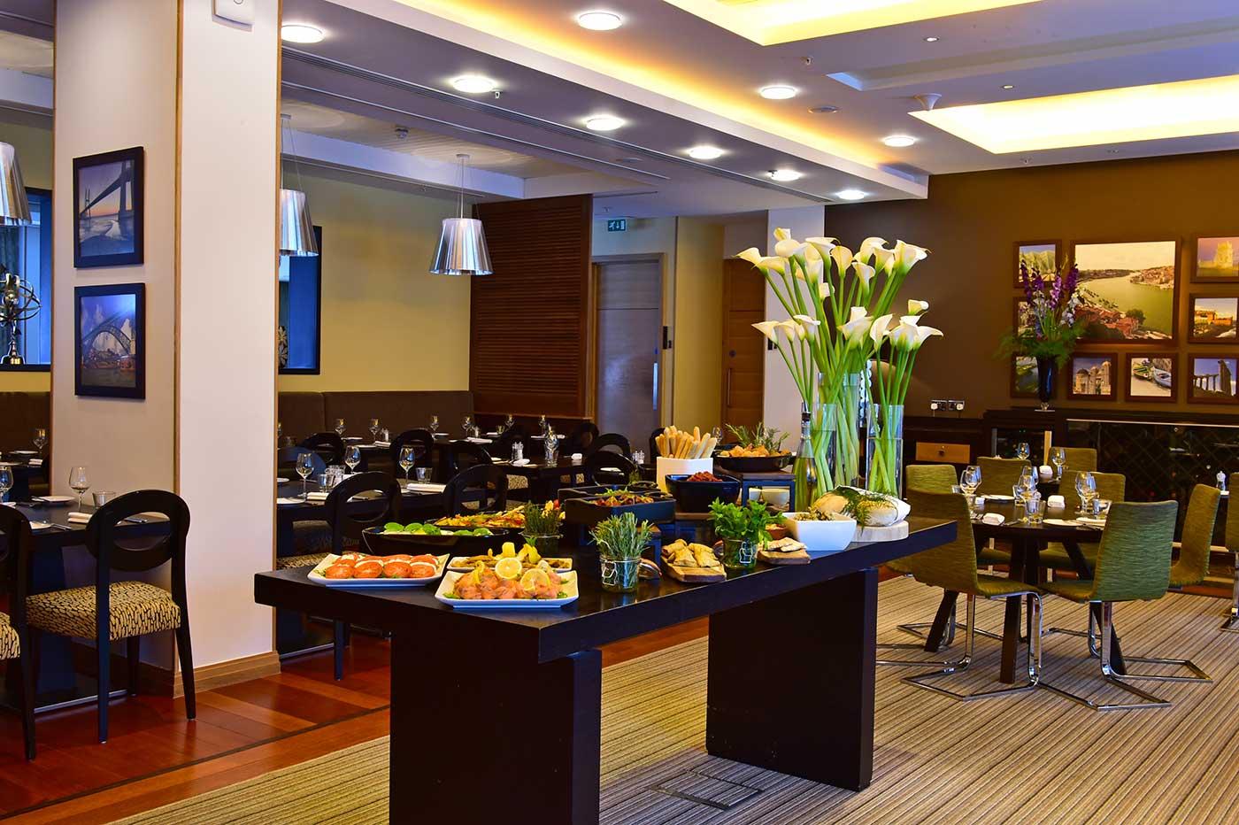 英国伦敦佩斯塔纳切尔西桥温泉酒店餐厅