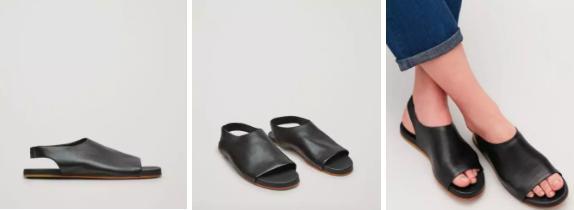 COS希腊露趾凉鞋