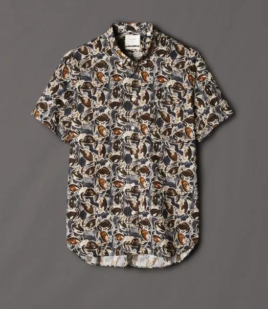 Billy Reid印花衬衫