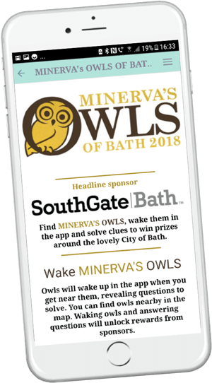 Owls of Bath app