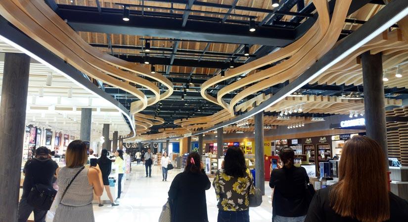 The newly opened Mactan-Cebu International Airport Terminal 2