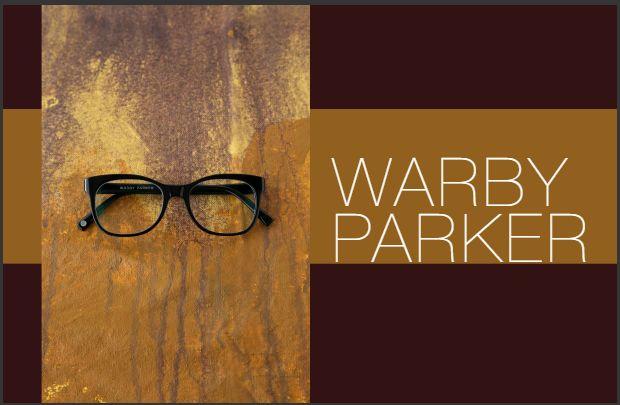 Warby Parke黑框眼镜