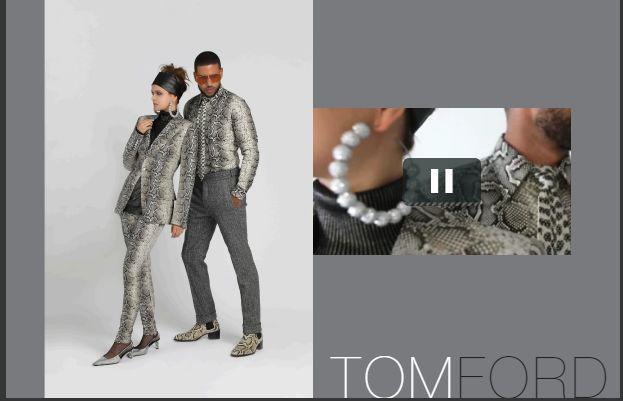 TomFord 蛇纹套装