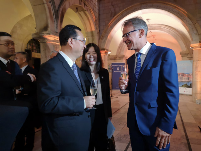 Croatian Tourism Minister Gari Cappelli and Chinese Tourism Minister Luo Shugang. Photo: Ministry of Tourism of the Republic of Croatia